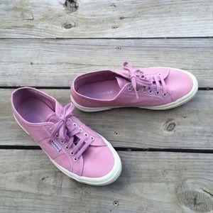 Superga Shoes - Supergas Lavender Pink UK 41
