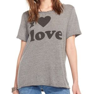 Chaser Tops - Chaser NWT. I ❤ love T.  Small &a Medium
