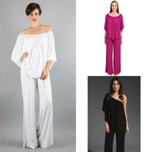 James & Joy Pants - Only 2 left Boysenberry convertible jumpsuit