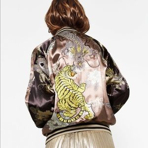 LIMITED EDITION EMBROIDERED BOMBER