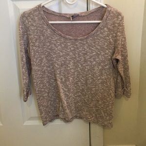 Sparkle & Fade Tops - Sparkle & Fade 3/4 length tee size small