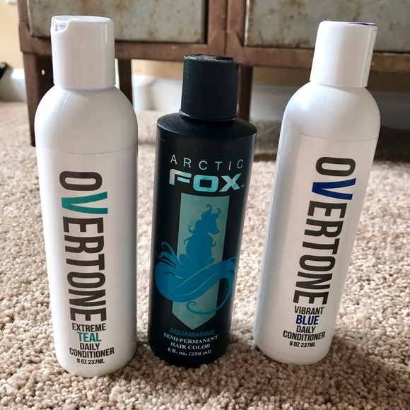 Arctic fox makeup and overtone conditioner bundle poshmark for Bairly sheer tattoo cover