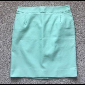 J. Crew Dresses & Skirts - J crew mint pencil skirt sz 14