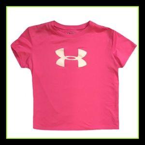 Under Armour Other - Under Armour Girl's Short Sleeve Shirt