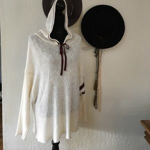NEW Free People Live All hoodie sweater