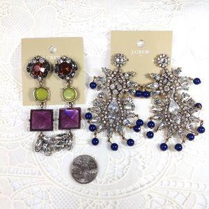 J. Crew Jewelry - Jcrew bulky statement earrings