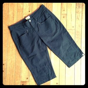 Royal Robbins Pants - Black Royal Robbins quickdry outdoor active capris