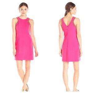 NWT Lilly Pulitzer Pink Beaded Dress Sz 2