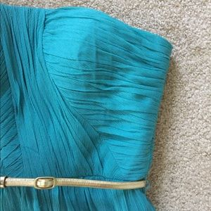 Donna Morgan Dresses & Skirts - Donna Morgan • Teal Strapless Bridesmaids Dress