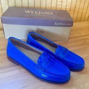 G.H. Bass & Co. Blue Weejuns Loafers