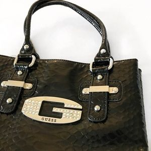 Guess Handbags - Guess Faux Snakeskin Purse