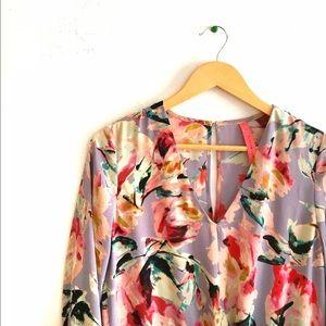 Anthropologie Floral Dress Sz S