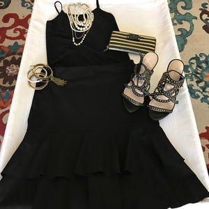 Ideology Dresses & Skirts - Ideology beautiful black ruffle skirt❤️💖👍