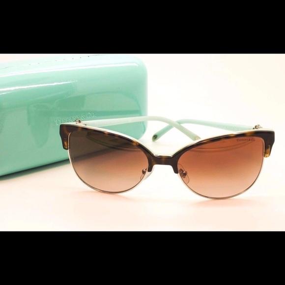 6f915a208422 Tiffany   Co. Cat Eye Sunglasses TF 4080. M 58bd918e4e95a363100e275b. Other  Accessories ...