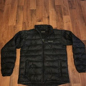 Marmot Other - Large Marmot 800 Full Zip Puffer Jacket Black