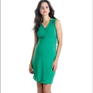Lilac Brynley Maternity Dress - Grass Green
