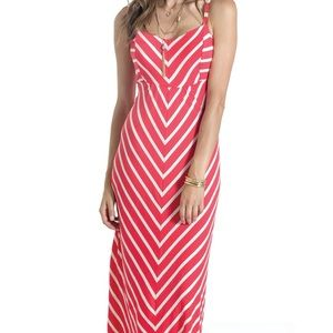 Lilac Clothing Dresses - Lilac Margot Maternity Maxi Dress - Coral