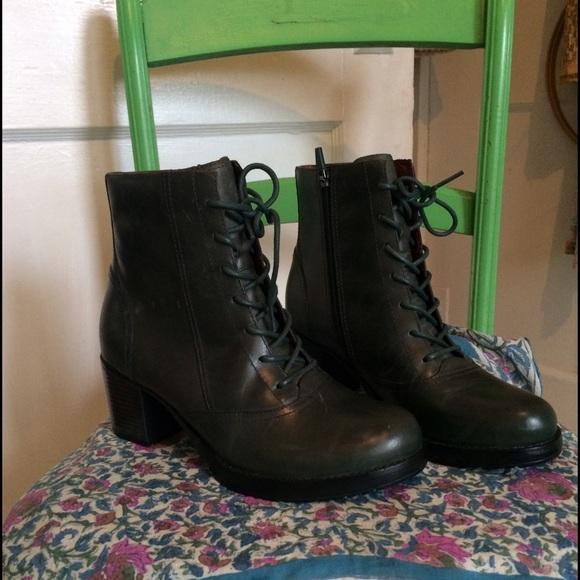 Dansko Ames Lace Up Ankle Boots Sz 39