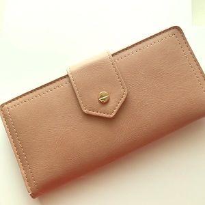 Antik Kraft Handbags - Antik Kraft Blush Wallet