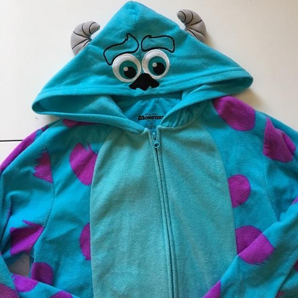 d2b4c4b77a5f NWT Monster s INC. Sully Adult Onesie Pajamas