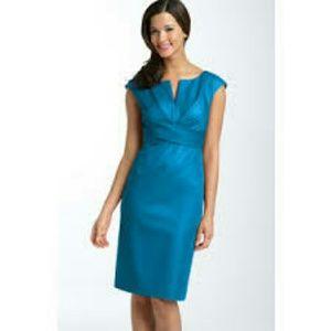 Donna Ricco Dresses & Skirts - SALE♡Donna Ricco Split Neck Sheath Dress 10 NWOT