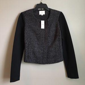 LOFT Jackets & Blazers - ❗️NWT LOFT Black Tweed Knit Blazer