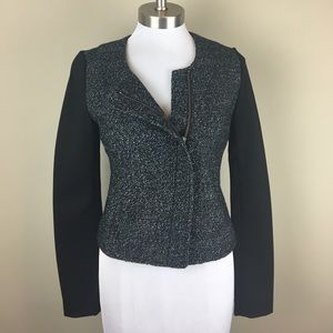 LOFT Jackets & Blazers - ❗️BUY IT NOW❗️NWT LOFT Black Tweed Blazer