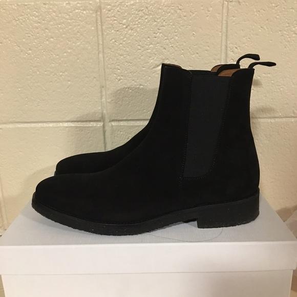 c99903e5da87 Oro Los Angeles Chelsea Boots Men Suede Authentic.  M 58bd9dddf0137d438a00a9be