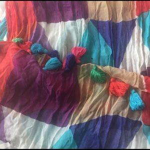 Kate Spade Multi- Colored Scarf