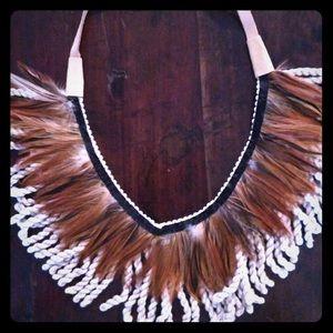 Boho Feather Necklace