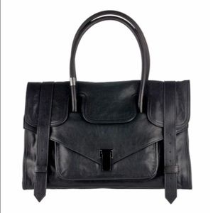 Proenza Schouler PS1 Keep All Leather Bag Black