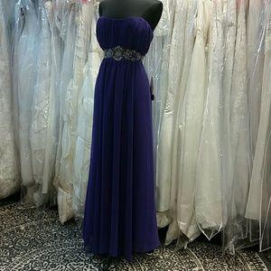Dresses & Skirts - ☇FLASH SALE☇Purple Chiffon Dress