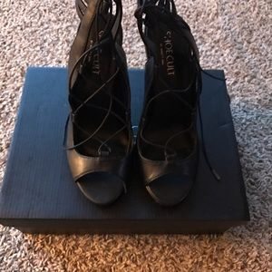 Shoe Cult Black Heels