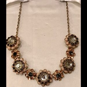 Jewelry - Stunning Rhinestone Beaded Vintage Choker Necklace