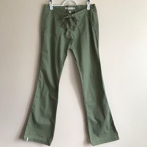 Abercrombie & Fitch Pants - Abercrombie & Fitch green cotton pant