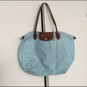 Longchamp Handbags - Longchamp Le Pliage large shopping shoulder tote
