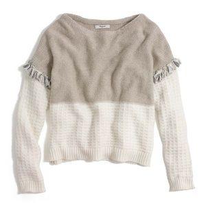 Madewell Wool Fringe Pullover
