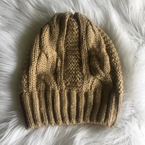 Brandy Melville Accessories - Tan Beanie