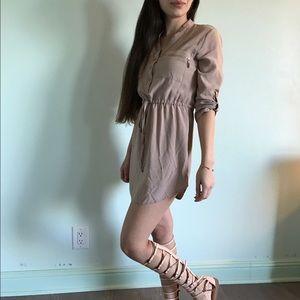 Michael Kors Dresses & Skirts - Tan tunic dress