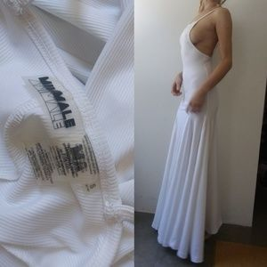 Minimale Animale Dresses & Skirts - Nwot minimale animale festival white maxi dress s