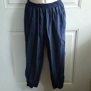 Eight Sixty Pants - Nordstrom EIGHT SIXTY Blue Cropped JOGGER Pants