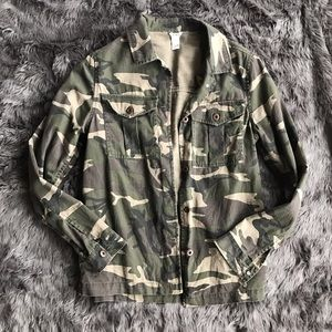 Forever 21 Jackets & Coats - Camo Jacket