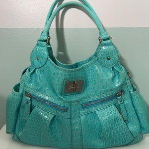 Icing Handbags - Aqua multi pocket medium size purse! 💙