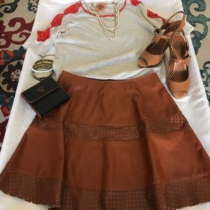 Love Riche Dresses & Skirts - 😻❤️Camel Faux Leather short skirt 😎❤️