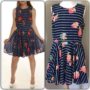 3/14 HPMaison Jules Floral Flare Dress