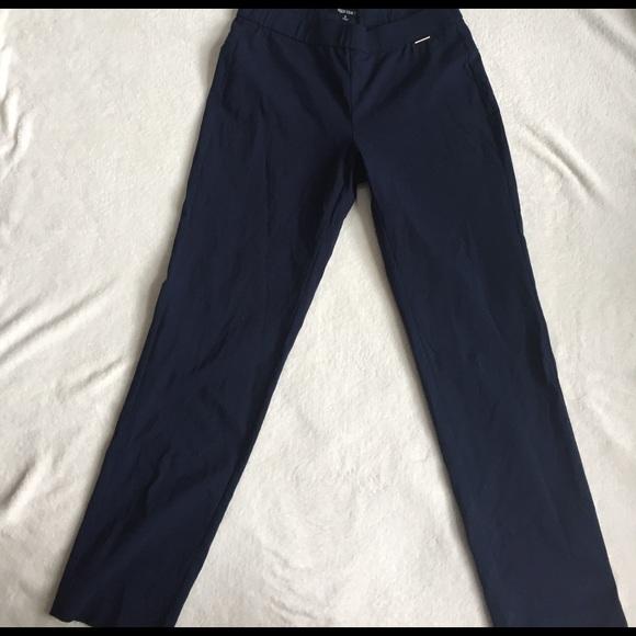 Ellen Tracy Pants - stretchy blue ellen tracy dress pants size 8