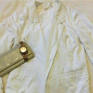 White Frenchi blazer