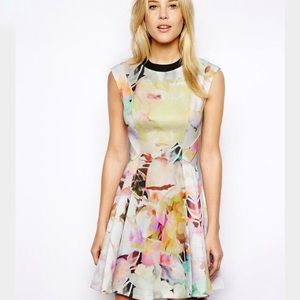 "Ted Baker ""Jeneyy"" Electric Day Dress"