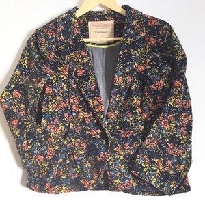 """Anthropologie Jackets & Blazers - Anthropologie """"Cartonnier"""" velvet blazer"""