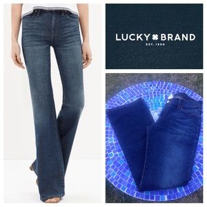 Perfect condition! Lucky Brand Midrise flare jeans